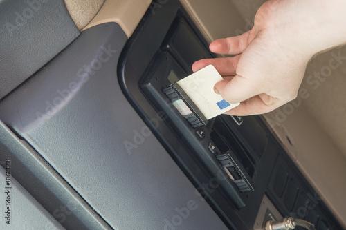 Tachograph card - 81611088