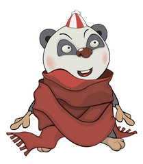 Bear. Panda. Cartoon