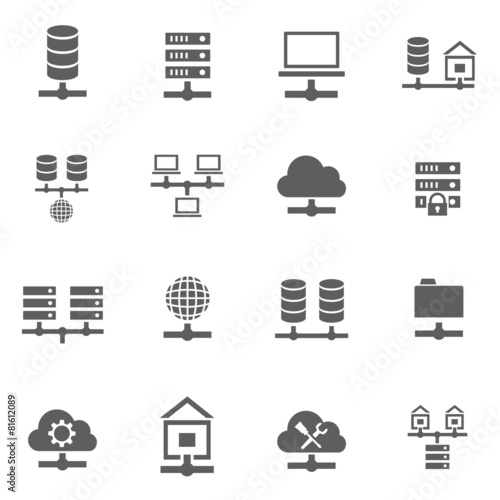 Set of icons - 81612089