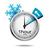 hodiny přechod na zimní čas