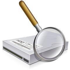 Analysis of a hard drive