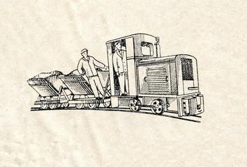 Minimum gauge railwy