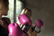 Boxing Woman - 81612643