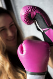 Boxing Woman - 81612654
