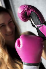 Boxing Woman