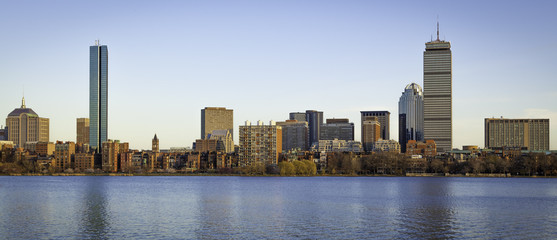 View of Boston in Massachusetts, USA