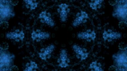 Cloudy tunnel kaleidoskope