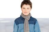 portrait of a teen boy