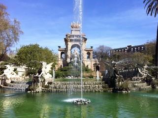 Fuente del Parque Ciutadela, Barcelona