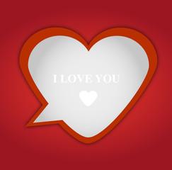cuore fumetto per San Valentino