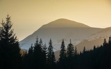 Mount Petros at sunrise