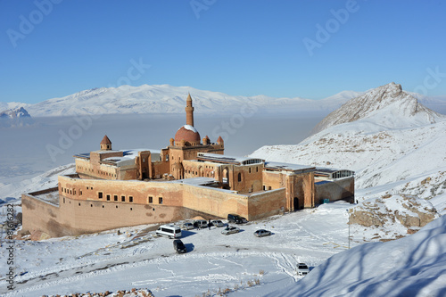 Foto op Canvas Turkey Ishak Pasha Palace - morning view