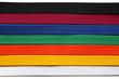 canvas print picture - Taekwondo Belts