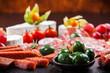 Antipasto dinner platter