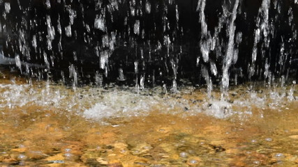 Waterfall's Water Curtain Background