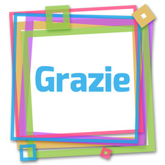 Grazie Colorful Frame