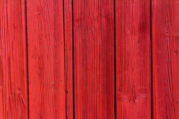 Red wooden plank background