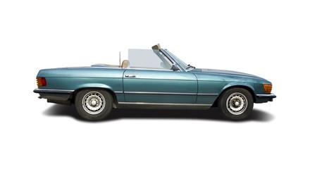 Classic cabrio car