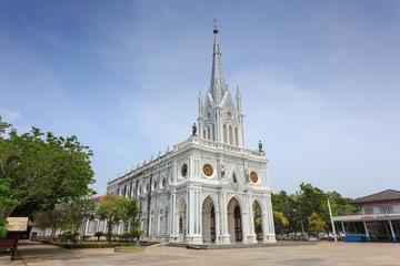 Catholic Church at Samut Songkhram, Thailand