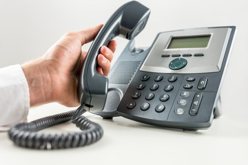 Concept of telemarketing and customer support