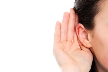 Deaf woman