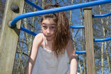 Pretty girl ten years