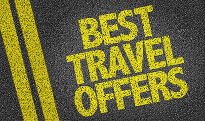 Best Travel Offers written on the road