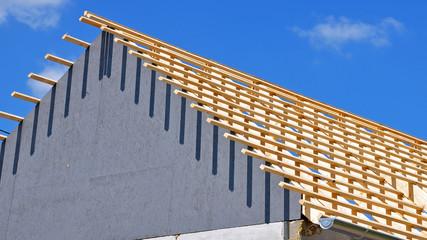 neues dach, hausbau