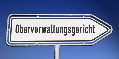 Wegweiser Oberverwaltungsgericht
