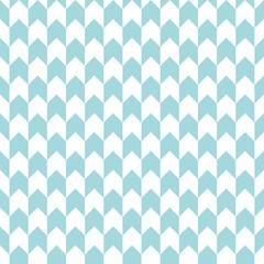 Retro Corner Pattern Seamless Turquoise