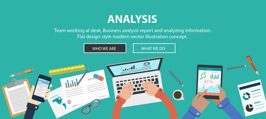 Marketing Analysis Accounting Team Teamwork Business Concept