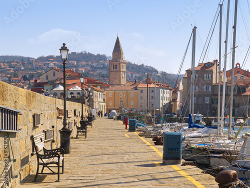 Foto op Canvas Dam Mole Muggia / Friaul / Italien
