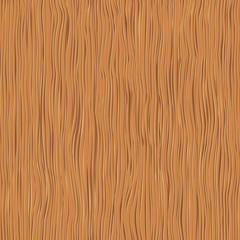 Wood texture, vector seamless background