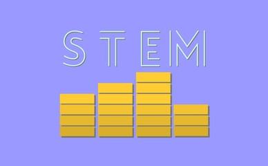 STEM Logo Equalizer