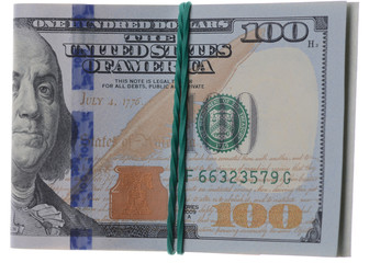 one hundred dollars of the United States