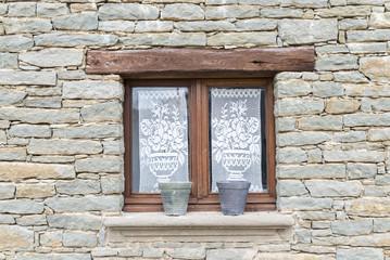 Old rustic window