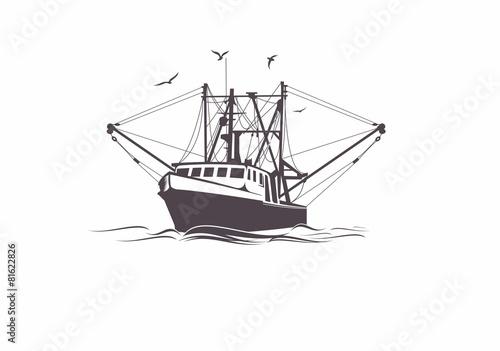 Fototapeta Fishing Boat