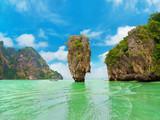 Fototapety James Bond Island (Ko Tapu), Thailand, Phang Nga Bay, Phuket, Ao