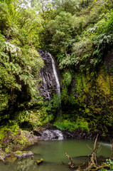 Waterfall in Amber Mountain National Park Madagascar