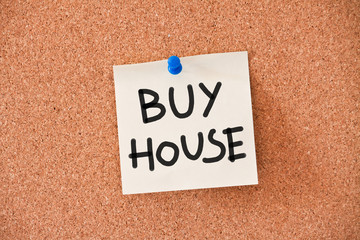 memo: buy house