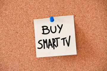 memo: buy smart tv