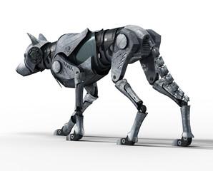 Walking Wolf Robot Back View