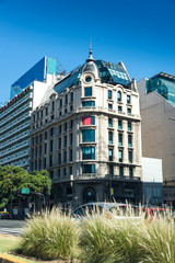 Traveling Buenos Aires, Old historic Building. Old and Modern.