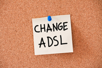 memo: change adsl