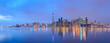 Leinwanddruck Bild - Scenic view at Toronto city waterfront skyline