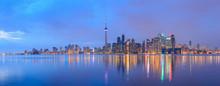 "Постер, картина, фотообои ""Scenic view at Toronto city waterfront skyline"""