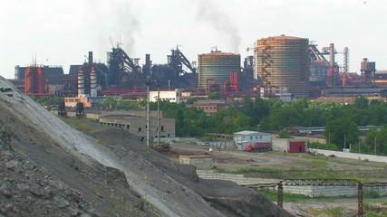Big metallurgical plant.