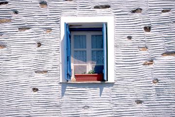 Window of Cycladian house