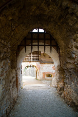 Barred entrance to citadel