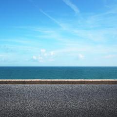 Highway near the sea